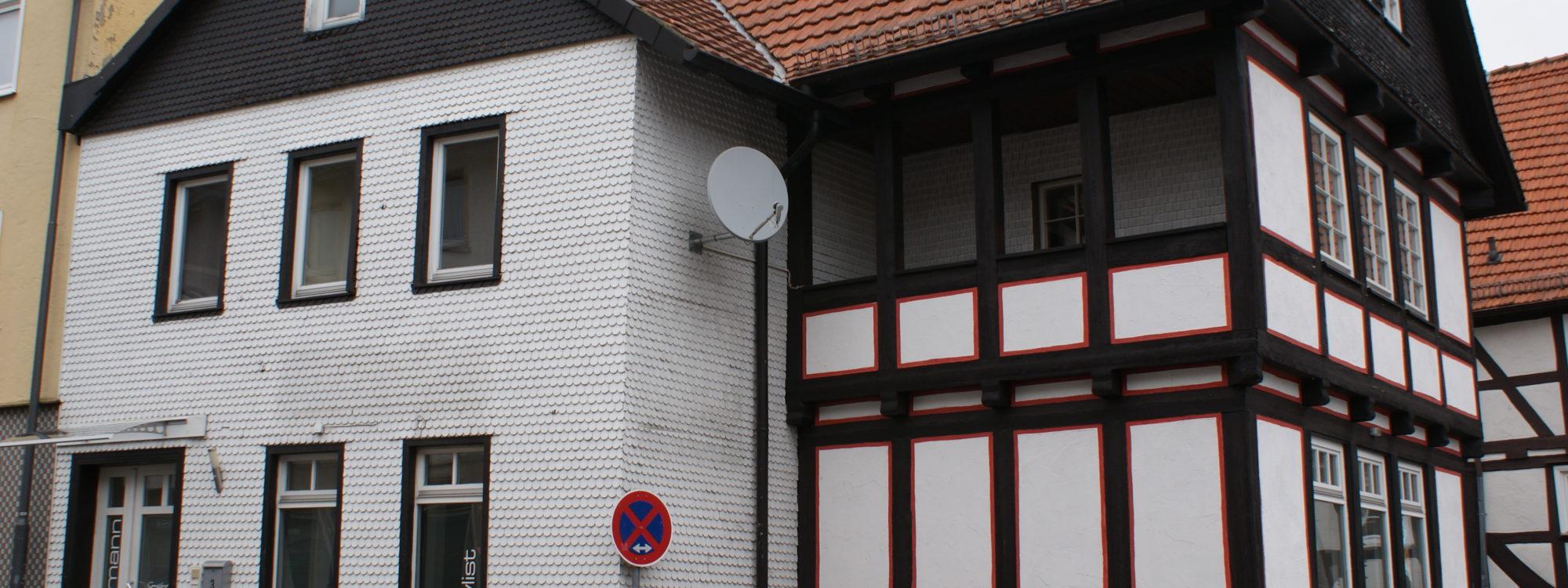 Wohn- Gewerbe-Fachwerkhaus, in sehr guter Lage